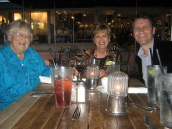 Miami's Lincoln Road with Cousin Susan and Aunt Hilda