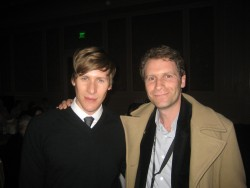 with Lance Black in Vegas